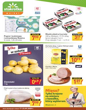 gazetka stokrotka market