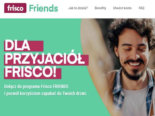 program lojalnościowy frisco friends