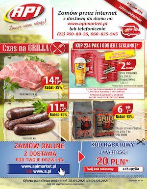 gazetka api market
